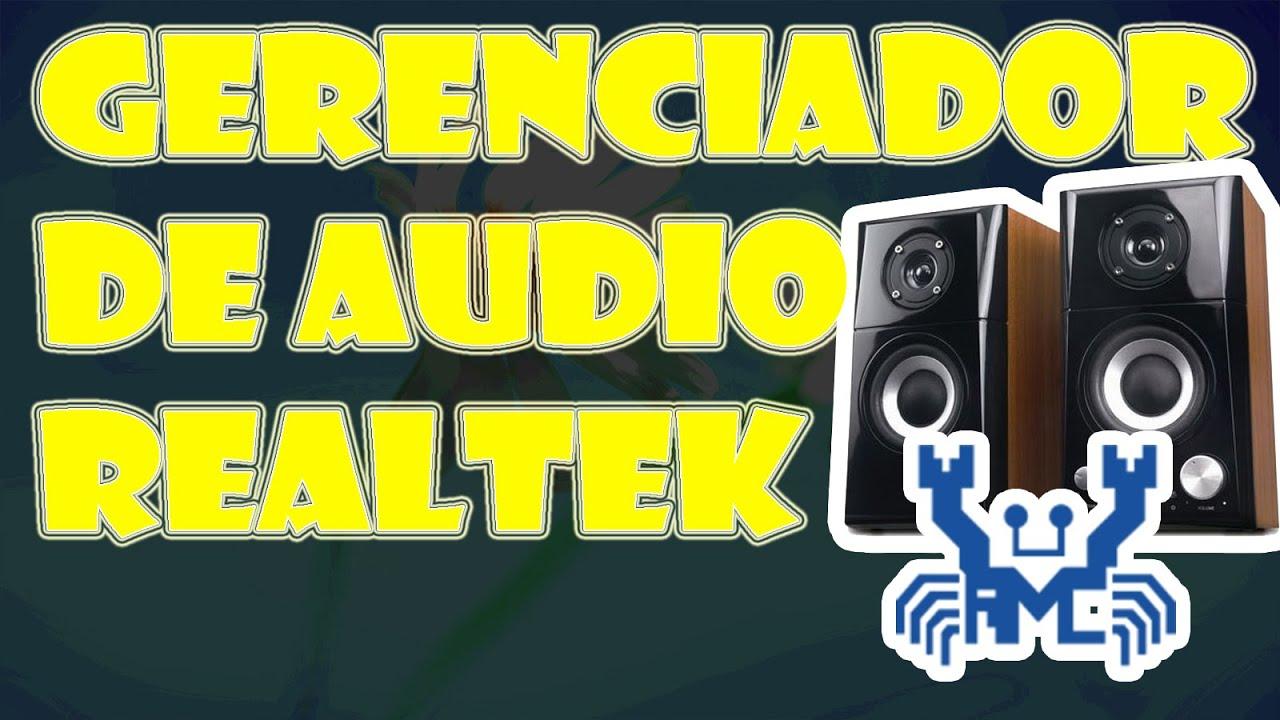 GERENCIADOR HD AUDIO PARA DE 7 WINDOWS REALTEK BAIXAR
