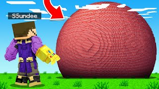HOW To BUILD a THANOS NUKE in Minecraft (Insane Craft)