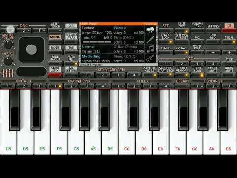 Thani oruvan theme piano notes
