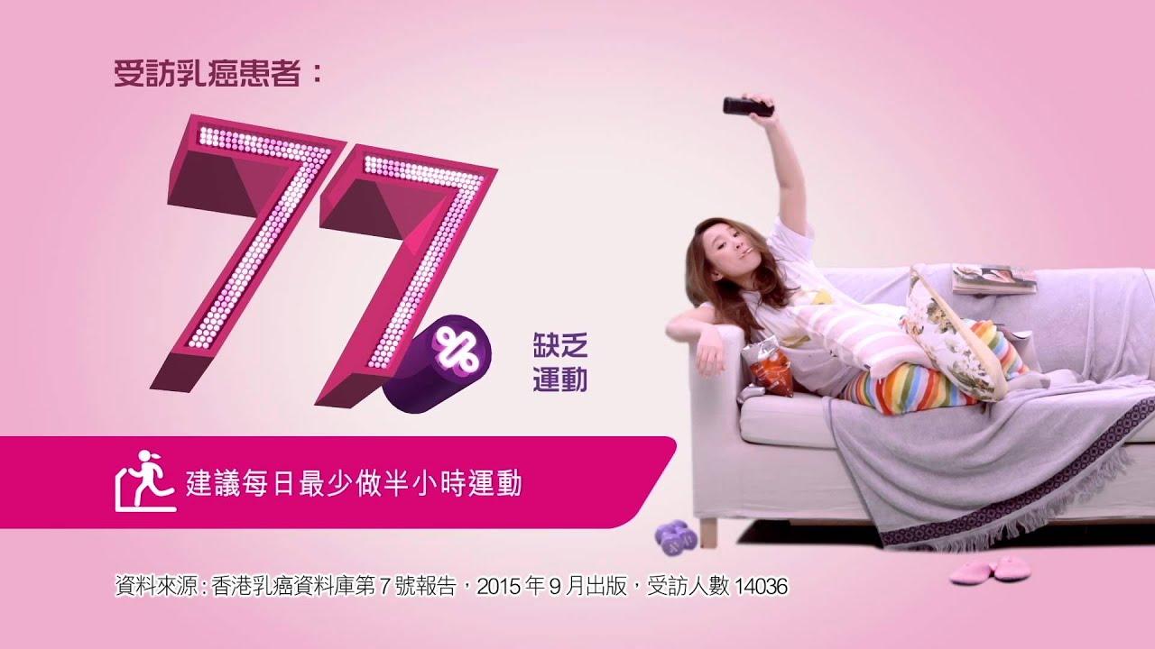 香港乳癌基金會2015年最新電視廣告 - 乳癌風險BINGO - YouTube