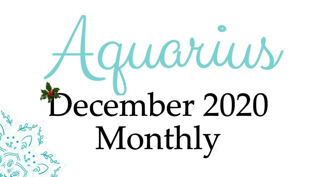 Aquarius ★ 'The start of something NEW!!' ♒︎ Aquarius December 2020 Monthly Love Tarot Card Reading