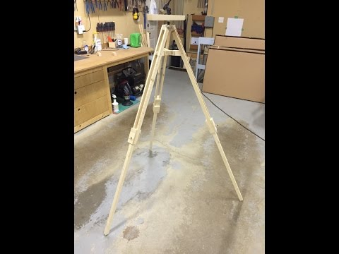 How to make a Wooden Tripod