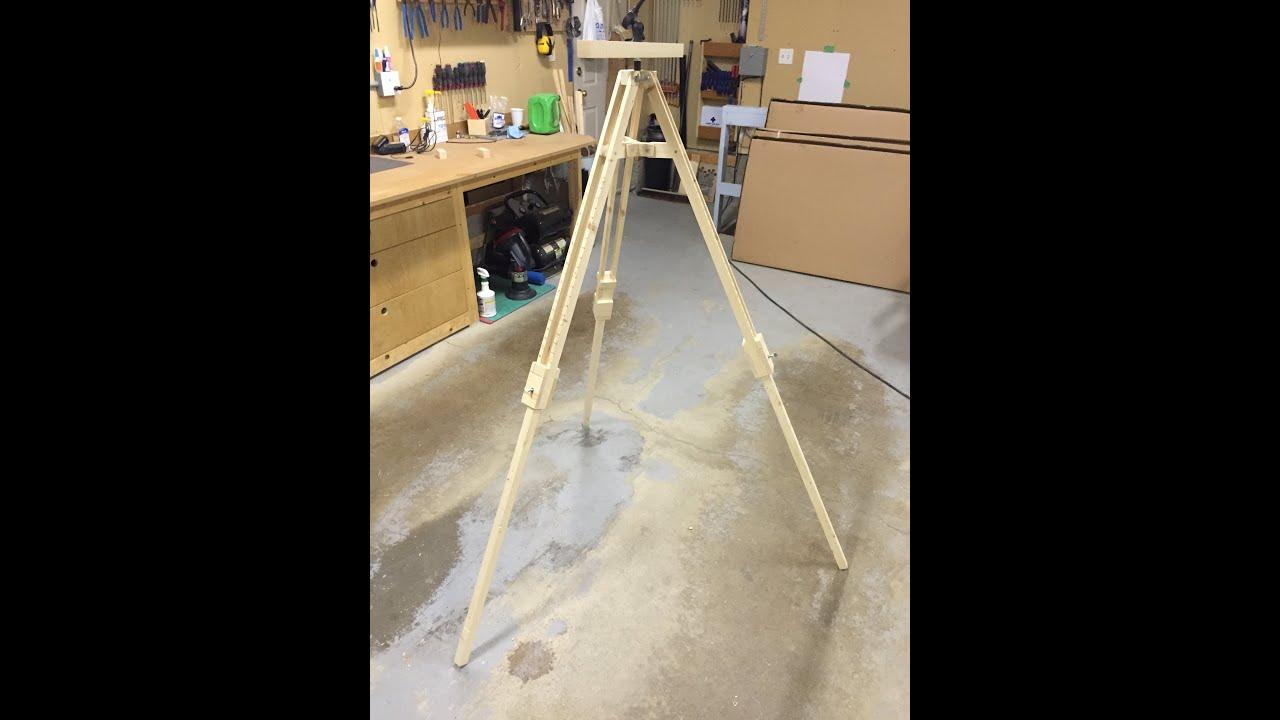 A Frame Floor Plans Wooden Tripod Youtube