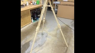 Make It - Wooden Tripod