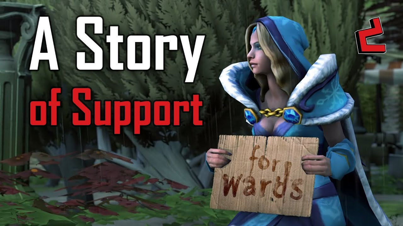dota 2 sfm a story of support youtube