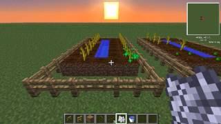 Minecraft karpuz tarlası yapımı ve karpuz yetiştirmek.