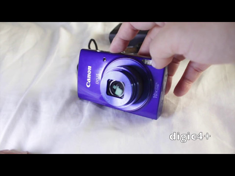 video testing the CANON IXUS 190 digital camera