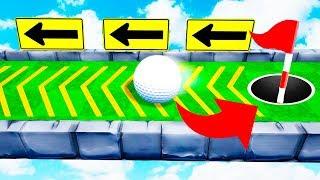 ЭТО ПРОСТО НЕВОЗМОЖНО! 99,8% СЛОЖНАЯ ЛУНКА ДЛЯ ПРО! ПРОШЛИ ОПАСНУЮ КАРТУ В ГОЛЬФ ИТ (Golf It)