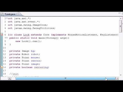 Using The Robot in Java Programming