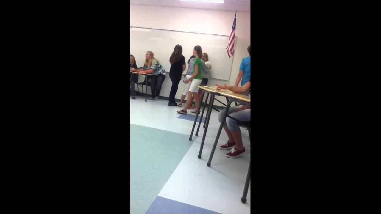 girls in classroom Teen