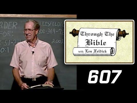 [ 607 ] Les Feldick [ Book 51 - Lesson 2 - Part 3 ] Hebrews 10:1-22  a