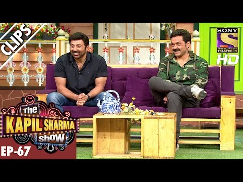 Sunny and Bobby Deol in The Kapil Sharma...