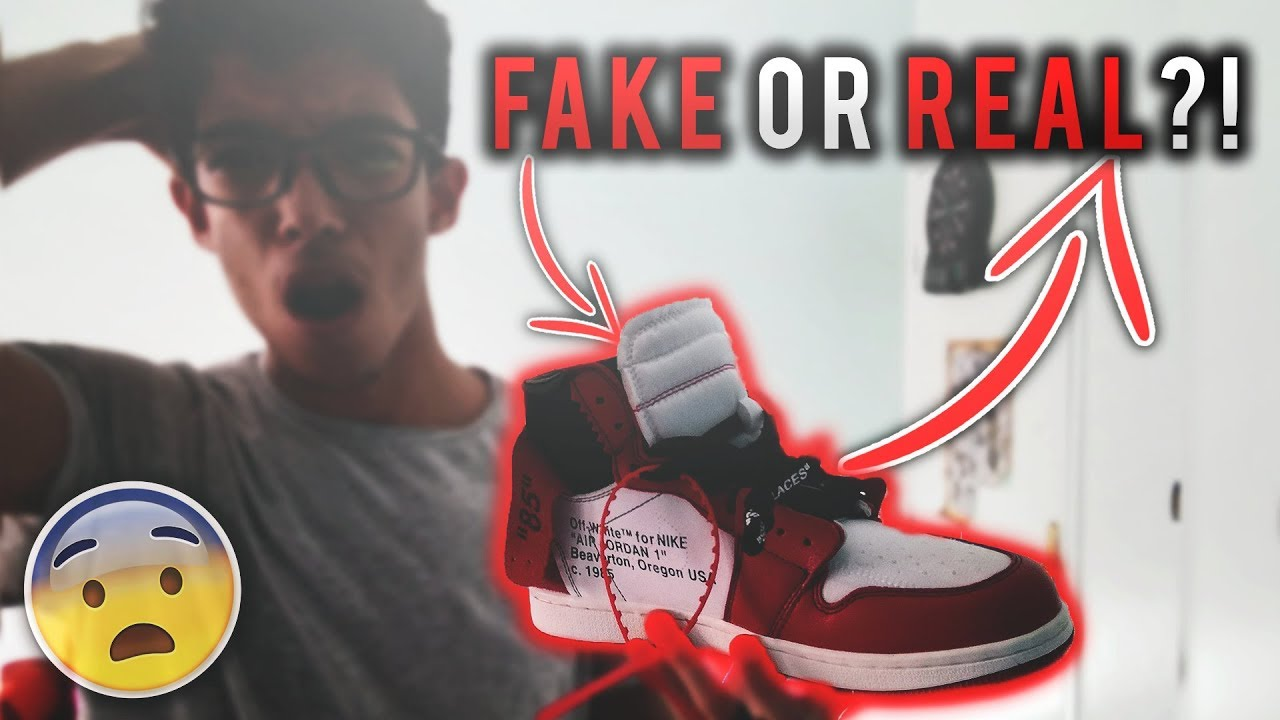 910116821a9 OFF WHITE AIR JORDAN 1 REVIEW - FAKE OR REAL!?