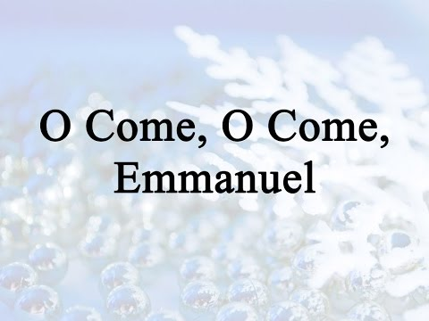 O Come, O Come, Emmanuel (Hymn Charts with Lyrics, Contemporary)