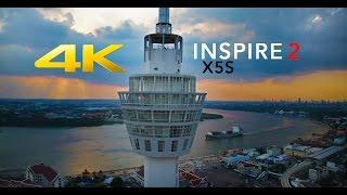 DJI INSPIRE 2 X5S @ Samut Prakan Observation Tower
