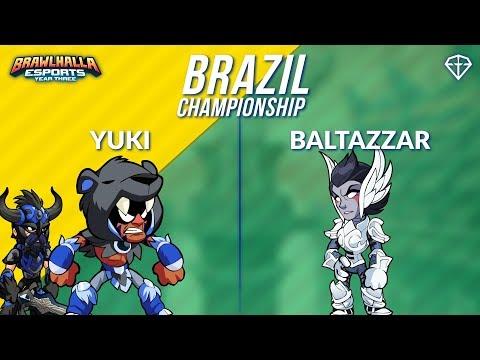 Yuki vs Baltazzar - BRZ 1v1 Top 8 - Brazil Championship