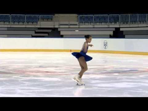 2015 ISU Junior Grand Prix Bratislava Ladies Short Program Mai MIHARA JPN