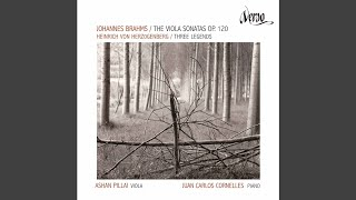 Play Clarinet Sonata No. 1 in F Minor, Op. 120 No. 1 (Version for Viola & Piano) II. Andante un poco adagio