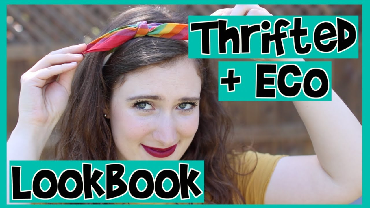 [VIDEO] - Thrifted + Sustainable Fall Lookbook // Ethical Fashion 1