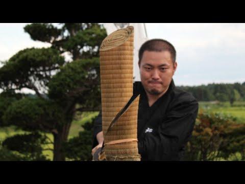 抜刀試斬稽古 失敗集 (Japanese Katana Failure Cutting 日本刀試し斬り)