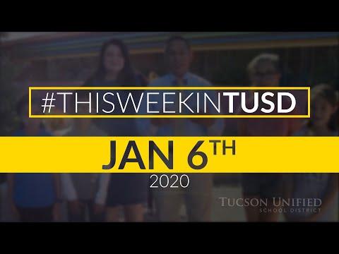 TUSD1 - Video Newsletter Cholla High School January 6, 2020