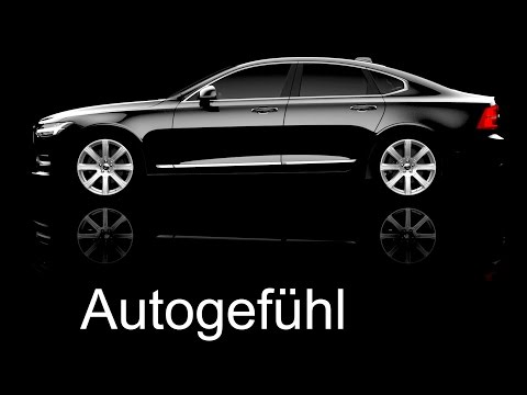 NAIAS reveal Volvo S90 new luxury sedan presentation explanation neuer - Autogefühl