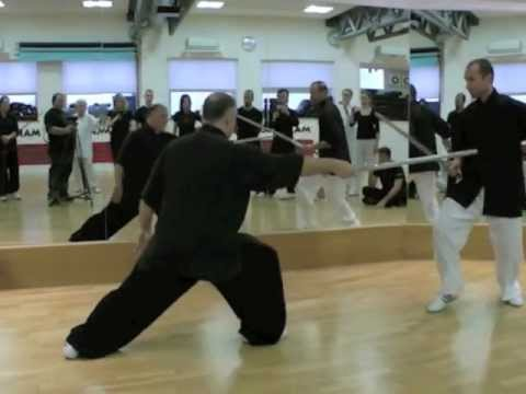 Jian Sword at Makoto School Trainers course
