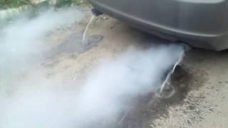 Вода/конденсат из глушителя Honda Accord