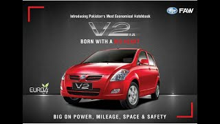 FAW , V2 Hatchback Car 2020 Features Review