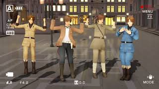 [APH MMD] Happiness - [Italian Brothers and Iberian Brothers]