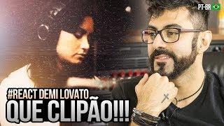REAGINDO a Demi Lovato - Sober (Lyric Video)