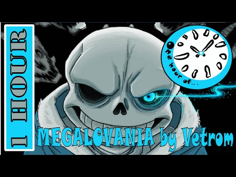MEGALOVANIA - Instrumental Mix Cover (Undertale) by Vetrom  1 hour | One Hour of...