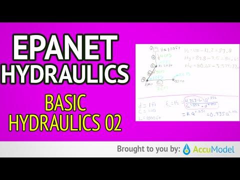 EPANET Basic Hydraulics 02a | Hydraulic Modeling