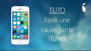 Comment faire une sauvegarde ou synchroniser un iPhone iPad avec iTunes