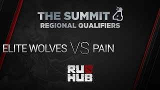 Elit Wolves - Pain Gaming, game 2, The Summit 4 NA Qualifiers