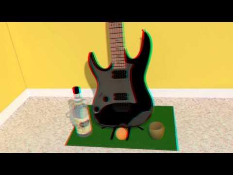 Guitar Scene 3D