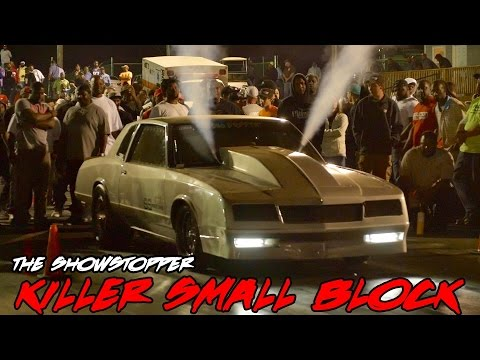 THIS THING IS FAST!! CRAZY SMALL BLOCK MONTE CARLO SS PUTS IT DOWN! THE SHOWSTOPPER
