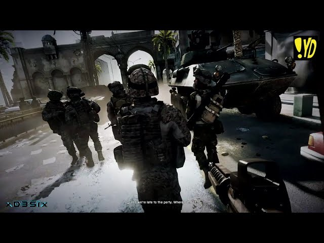 Battlefield 3 - O Que Sobrou do Céu (O Rappa) Travel Video