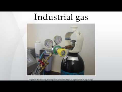 Industrial gas