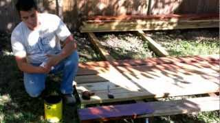Backyard Makeover Pergola, Arbor Preparation And Construction