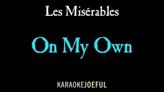 On My Own Les Miserables Authentic Orchestral Karaoke (full version) thumbnail