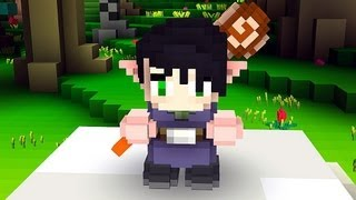 Repeat youtube video Cube World - Creating a Character and Getting Started