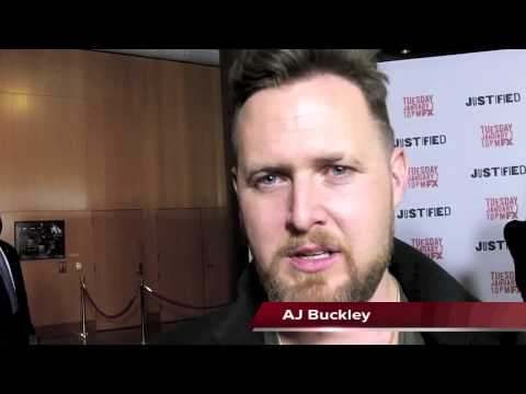 AJ Buckley Talks JUSTIFIED Season 5