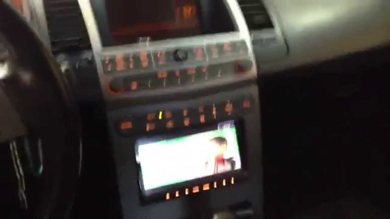 2006 Nissan maxima with pioneer avic-z130bt - YouTube
