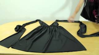 Шьём греческое платье   трансформер