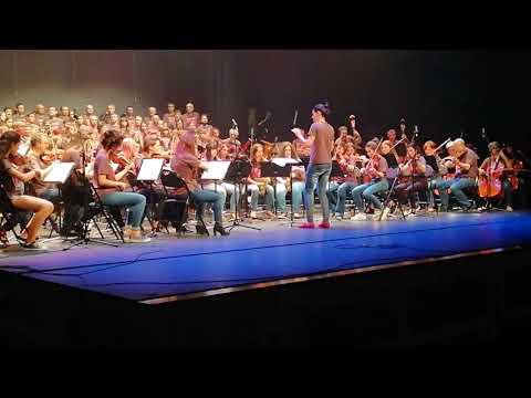 I Will Follow Him, Concierto de Fin de Curso, Escuela Municipal Luís Aramburu. Teatro Principal.
