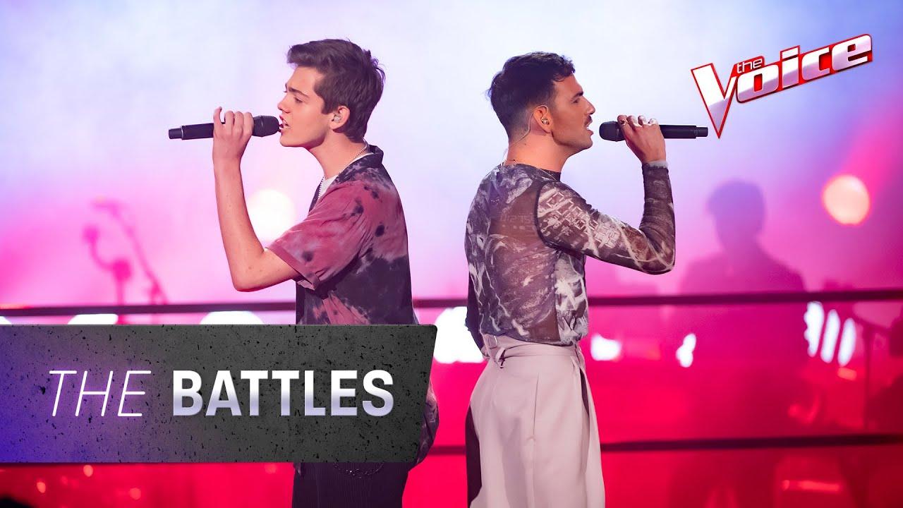 The Battles: Nathan Isaac v Sebastian Coe 'Physical' | The Voice Australia 2020