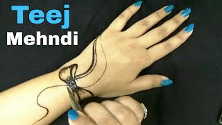Jewellery Mehndi Designs Latest 2018