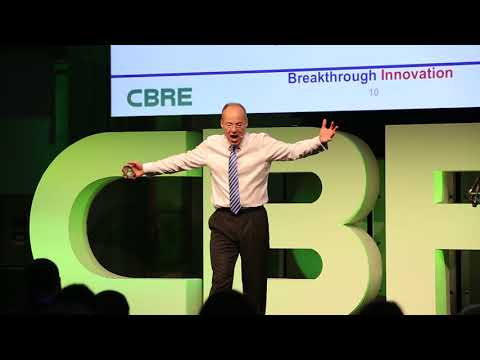 CBRE Hamish Taylor Breaking through normality to create Innovative Solutions