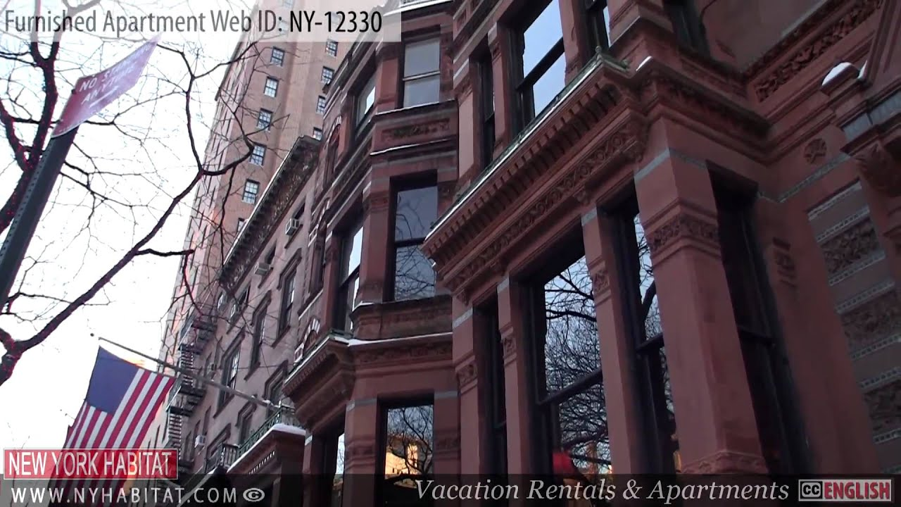 new york city video tour of a furnished apartment on park avenue